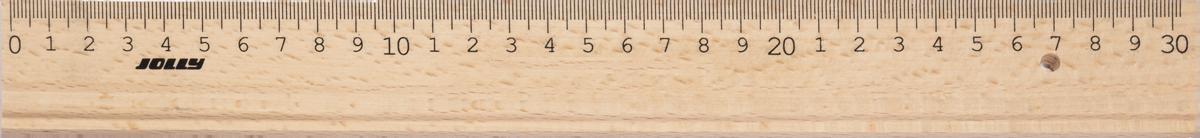 Holzlineal-Set 15+30cm