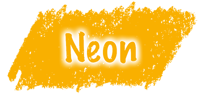 neon oranžna