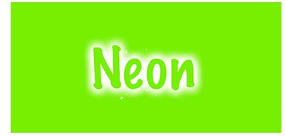 neon zelena